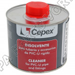 Cleaner Cepex for PVC-U pipe and fittings
