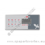 Clavier de commande Gecko TSC-8 (K-8), 8 boutons