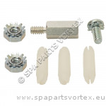 Kit de fixations pour carte de relais