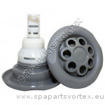 Power Storm Pulse-Massage 5-point Textured Grey (Thread in)