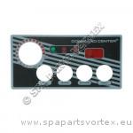 Revêtement CC - 4 boutons