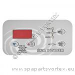 Revêtement Clavier de commande SP601 Rectangulaire