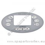 Revêtement Clavier de commande SP800 Oval