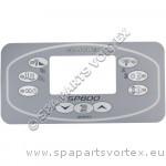Revêtement Clavier de commande SP800 Rectangulaire