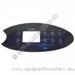 Wellis Control Panel Overlay - VL802D