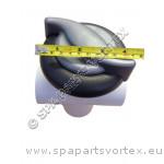 Vita Spa Diverter Valve 2 Inch Swirl Black