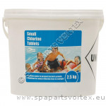 Swimmer Small Chlorine Tablets 2.5kg