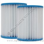 (140mm) LAY Z SPA Replacement Filters (PAIR)