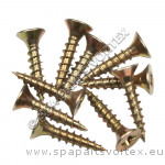 Wood Screws (4 x 25mm) Pack Of 10