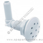 Air Injecter Pepper pot style (3-eighth) WHITE