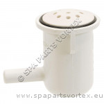 Air Injecter Pepper Pot Elbow Style White