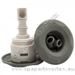 Mini Storm Grey Twin Roto 5-Point Textured (Thread in)