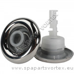 Cyclone Luxury Jet, Directional, Stainless, Grey