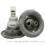 Power Storm Twin-Roto 5-point Textured Grey (Thread in)