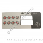 Hydroquip Overlay HT-2 8 Button