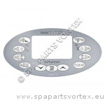 Overlay for SP1200 Oval Touch Panel