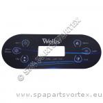 Wellis Control Panel Overlay - TP600