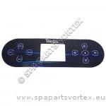 Wellis Control Panel Overlay - TP800