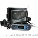 (Pack 4.2) Balboa GS510SZ with long oval touch pad. 2 pump with air.