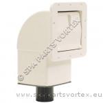 Square Spa Skimmer White