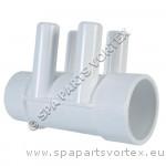 "Water Manifold 1.5"" x 3/4""SB (4PT)"