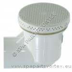 1.5 inch 90 Low Profile Suction or Drain White