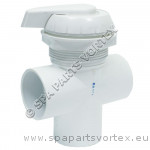 2 inch Water Diverter White