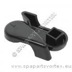 Handle for 1 inch Diverter, Black (2003 to 2004)