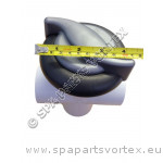Vita Spa Diverter Valve 2 Inch Swirl Black