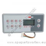 TSC-8 (K-8) Gecko 10 Buttons Topside Control (3 Pumps)