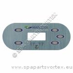 (650-0741) Marquis Spa Overlay E-Series 5-BTN 1 Pump 2014