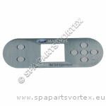 (650-0743) Marquis Spa Overlay MQ 7-BTN 1 Pump 2014-15