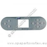 (650-0744) Marquis Spa Overlay MQ 8-BTN 2 Pump 2014-15