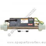 """Réchauffeur LX H30-R1 3.0KW 2"""" sans câble de débit (droit)"""