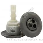 Mini Storm Grey Pulse Massage 5-Point Textured (Thread in)