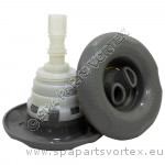 Poly Storm Twin-Roto 5-point Textured GREY (Thread in)