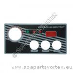 Revêtement CC - 3 boutons