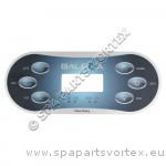 Revêtement TP600 (6 boutons) 1p + Aux
