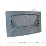 Façade et volet gris pour Skimmer Front Access, style oval, 9,23m² (100sq ft)