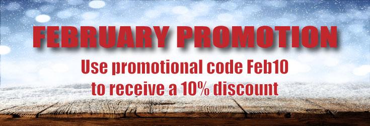 feb promotion